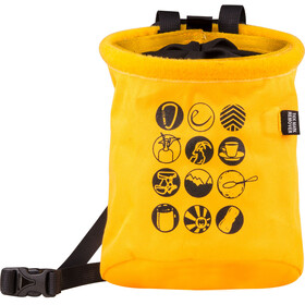 Edelrid Rocket Twist Chalk Bag amber